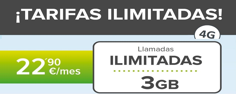 TARIFAS MOVIL ILIMITADAS 3GB, CONSÚLTANOS CONDICIONES 984200340