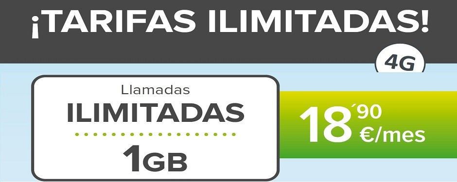 TARIFAS MOVIL ILIMITADAS 1GB, CONSÚLTANOS CONDICIONES 984200340